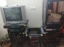 تلویزیون به همراه سی دی ومیز آهنی با کیفیت به فروش می رسد در شیپور-عکس کوچک
