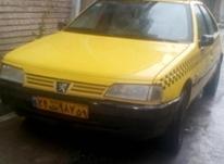 تاکسی پژو روآ دوگانه 87 درون شهری گردشی آزادشهر در شیپور-عکس کوچک