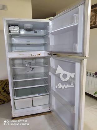 یخچال الکترو استیل دو در بدون برفک در گروه خرید و فروش لوازم خانگی در مازندران در شیپور-عکس2