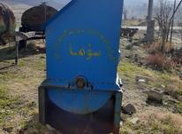 خرمنکوب تراکتور در شیپور-عکس کوچک