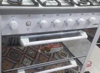اجاق گاز سفید طرح فر در شیپور-عکس کوچک