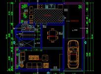 طراحی نقشه کشی ساختمان باغ ویلا باغچه  در شیپور-عکس کوچک