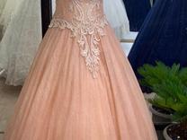 حراج لباس عروس ژورنال ترک شاین شنی رنگ گلبه ای در شیپور
