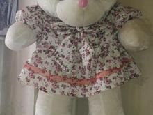 عروسک خرس 1ونیم متری رنگ سفید  در شیپور