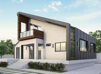 نقشه ویلا دوبلکس معماری ساختمان طراحی نما روف گاردن تری دی در شیپور-عکس کوچک