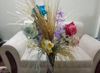 گل و گلدان نو سالم چوبی در شیپور-عکس کوچک