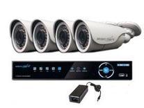 4 عدد دوربین مداربسته FULLHD با کلیه متعلقات + نصب رایگان  در شیپور