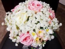 دسته گل عروس،و انواع تاج و دستبند قابل سفارش در شیپور