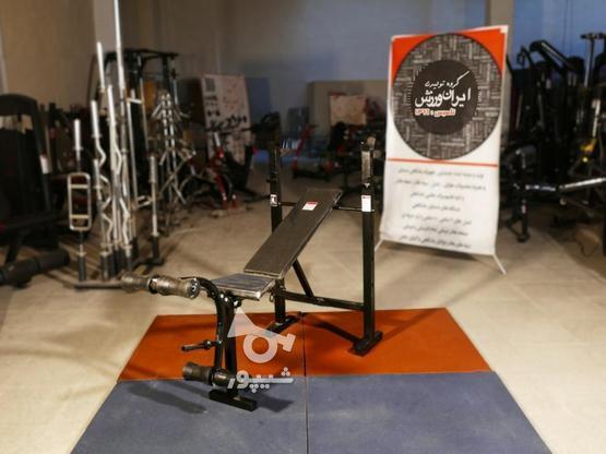 دستگاه (میز . نیمکت) 16 حرکته بدنسازی خانگی با پروفیل سنگین در گروه خرید و فروش ورزش فرهنگ فراغت در اصفهان در شیپور-عکس2