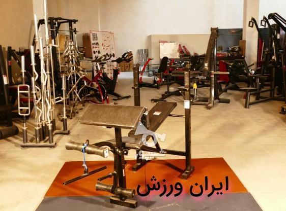 میز ( نیمکت ) بدنسازی خانگی 10 کاره حرفه ای با پروفیل سنگین در گروه خرید و فروش ورزش فرهنگ فراغت در اصفهان در شیپور-عکس2