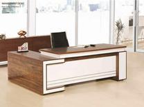 میز ریاست ترکیب هایگلس طرح ویلا در شیپور