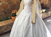لباس عروس یکبار پوشیده شده در شیپور-عکس کوچک
