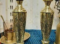شمعدان قلم برنجی در شیپور-عکس کوچک