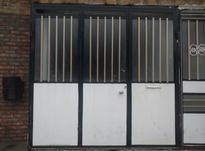 درب ورودی پارکینگ فلزی سه تایی در شیپور-عکس کوچک