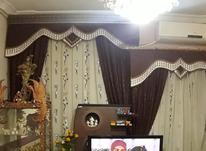 دو عدد پرده دو عدد لوستر میز تلویزیون و بوفه کهنوج در شیپور-عکس کوچک