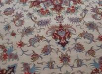 یک تخته قالی 6 متری بافت کاشمر نقشه تبریز گل ابریشم در شیپور-عکس کوچک