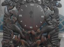 ساعت دیواری چوب گردو در شیپور-عکس کوچک