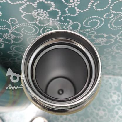 فلاسک قلمی دمنوش 0.5 لیتری  طرح پارچه در گروه خرید و فروش لوازم خانگی در تهران در شیپور-عکس3