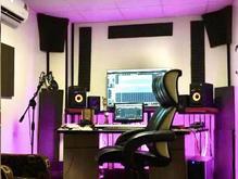 تست خوانندگی در استودیو موسیقی در شیپور