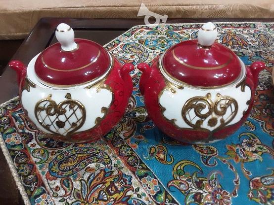 دوعدد قندان قرمز ویک عدد مرغی در گروه خرید و فروش لوازم خانگی در اصفهان در شیپور-عکس1