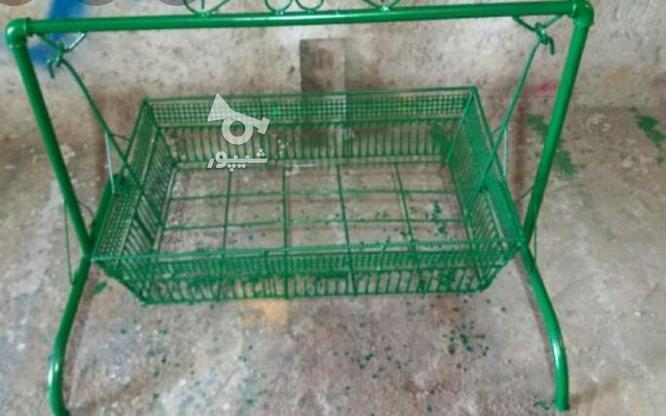 گهواره(ننو)نوزاد در گروه خرید و فروش لوازم شخصی در مازندران در شیپور-عکس1