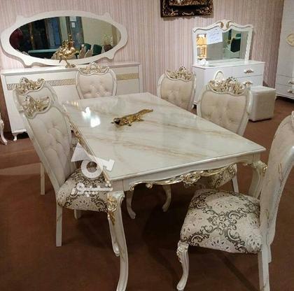 مبل استیل کلاسیک ست نهارخوری پانیذ در گروه خرید و فروش خدمات و کسب و کار در تهران در شیپور-عکس1