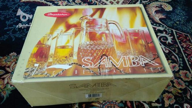 ست پارچ و لیوان 7 پارچه پاشاباغچه مدل Samba در گروه خرید و فروش لوازم خانگی در تهران در شیپور-عکس1