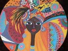 پذیرش نقاشی روی بشقاب سفالی دیوار کوب  در شیپور