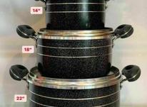 سرویس قابلمه شش پارچه کیژان طرح چدن ضخیم در شیپور-عکس کوچک