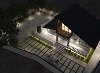 طراحی معماری سازه تاسیسات نما محوطه تری دی ازبیلت  در شیپور-عکس کوچک