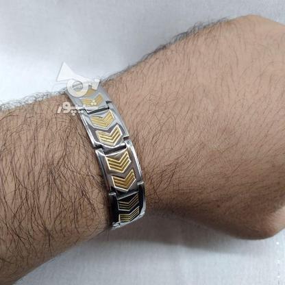 دستبند مردانه ی شبک در گروه خرید و فروش لوازم شخصی در تهران در شیپور-عکس2