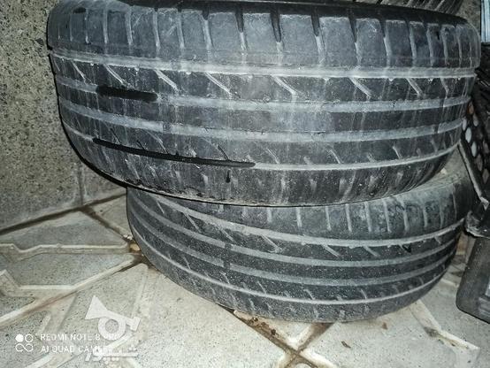 لاستیک سایلون 16/55/205 در گروه خرید و فروش وسایل نقلیه در آذربایجان شرقی در شیپور-عکس1