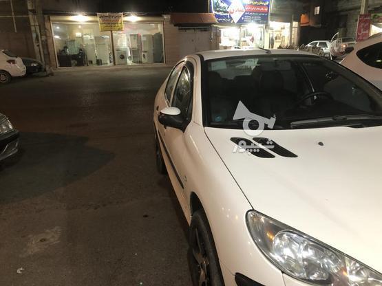 پژو 206 صندوقدار(v8) سفید بی رنگ مدل 96 در گروه خرید و فروش وسایل نقلیه در مازندران در شیپور-عکس2