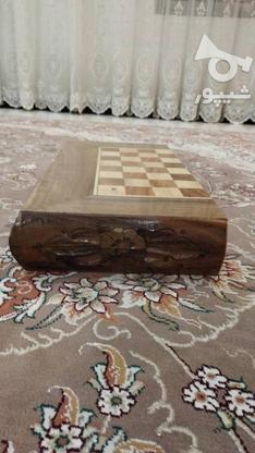 شطرنج  چوبی  در گروه خرید و فروش ورزش فرهنگ فراغت در تهران در شیپور-عکس2