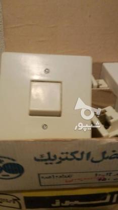 کلید برق تک پل توکار قدیمی در گروه خرید و فروش لوازم خانگی در البرز در شیپور-عکس2