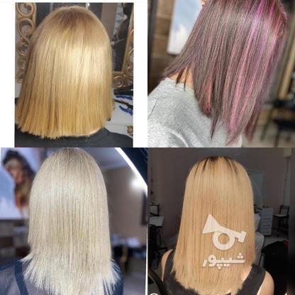 کراتین و انواع رنگ مو فقط هزینه مواد در گروه خرید و فروش خدمات و کسب و کار در اصفهان در شیپور-عکس1