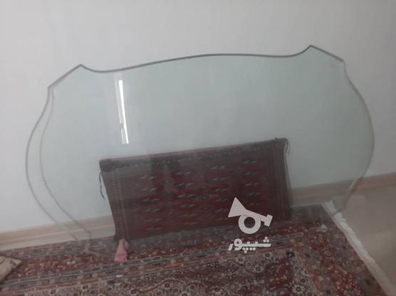 میزناهار خوری شیشه ای با پایه های ورق طلا  در گروه خرید و فروش لوازم خانگی در تهران در شیپور-عکس3