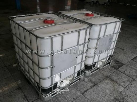 مخزن 1000لیتری IBC در گروه خرید و فروش صنعتی، اداری و تجاری در کرمان در شیپور-عکس1