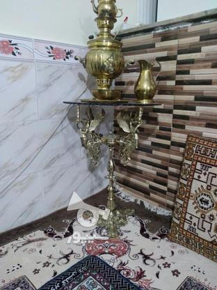 پایه چهار فرشته برنجی اصل در گروه خرید و فروش لوازم خانگی در قزوین در شیپور-عکس1