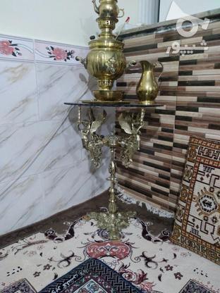 پایه چهار فرشته برنجی اصل در گروه خرید و فروش لوازم خانگی در قزوین در شیپور-عکس2
