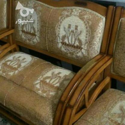 مبلمان چوبی راحتی 8نفره در گروه خرید و فروش لوازم خانگی در اصفهان در شیپور-عکس1