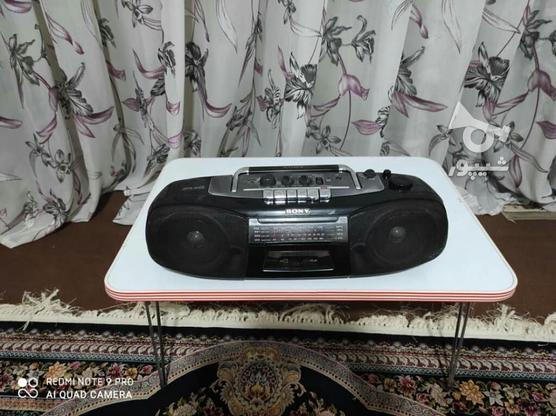 رادیو ضبط سونی  در گروه خرید و فروش لوازم الکترونیکی در تهران در شیپور-عکس1
