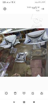 سرویس پذیرایی مشکی مات در گروه خرید و فروش لوازم خانگی در مازندران در شیپور-عکس2