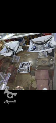 سرویس پذیرایی مشکی مات در گروه خرید و فروش لوازم خانگی در مازندران در شیپور-عکس5