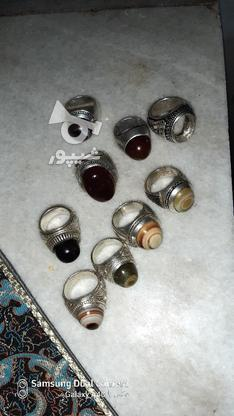 انگشتر های زیبا ودرشت در گروه خرید و فروش لوازم شخصی در یزد در شیپور-عکس3