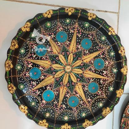 تابلو و سینی نقطه کوبی زیبا برای دکور در گروه خرید و فروش لوازم خانگی در خراسان رضوی در شیپور-عکس2