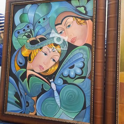 تابلو و سینی نقطه کوبی زیبا برای دکور در گروه خرید و فروش لوازم خانگی در خراسان رضوی در شیپور-عکس4