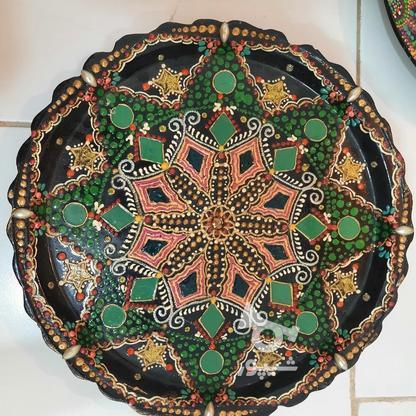 تابلو و سینی نقطه کوبی زیبا برای دکور در گروه خرید و فروش لوازم خانگی در خراسان رضوی در شیپور-عکس1