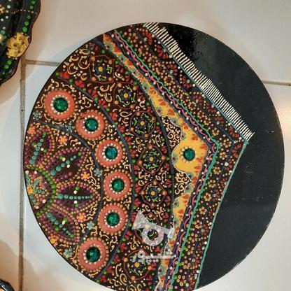 تابلو و سینی نقطه کوبی زیبا برای دکور در گروه خرید و فروش لوازم خانگی در خراسان رضوی در شیپور-عکس3