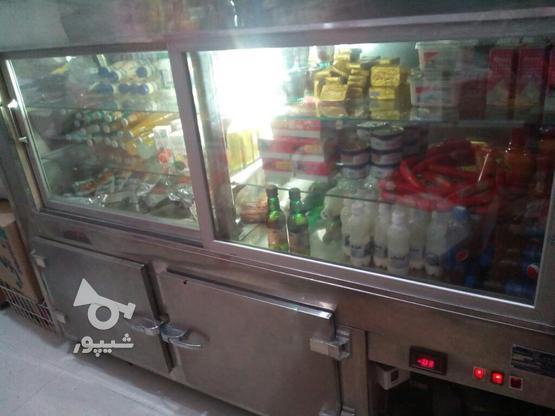 یخچال ویترینی مغازه برای مرغ فروشی در گروه خرید و فروش صنعتی، اداری و تجاری در آذربایجان غربی در شیپور-عکس2
